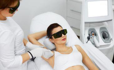 preparação para depilação a laser
