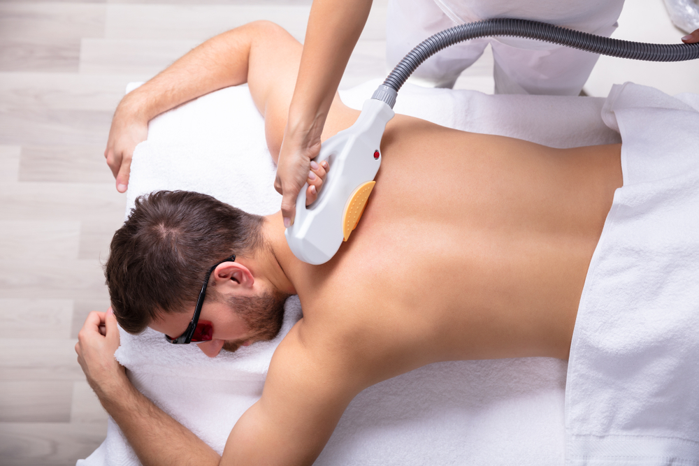 depilação definitiva costas