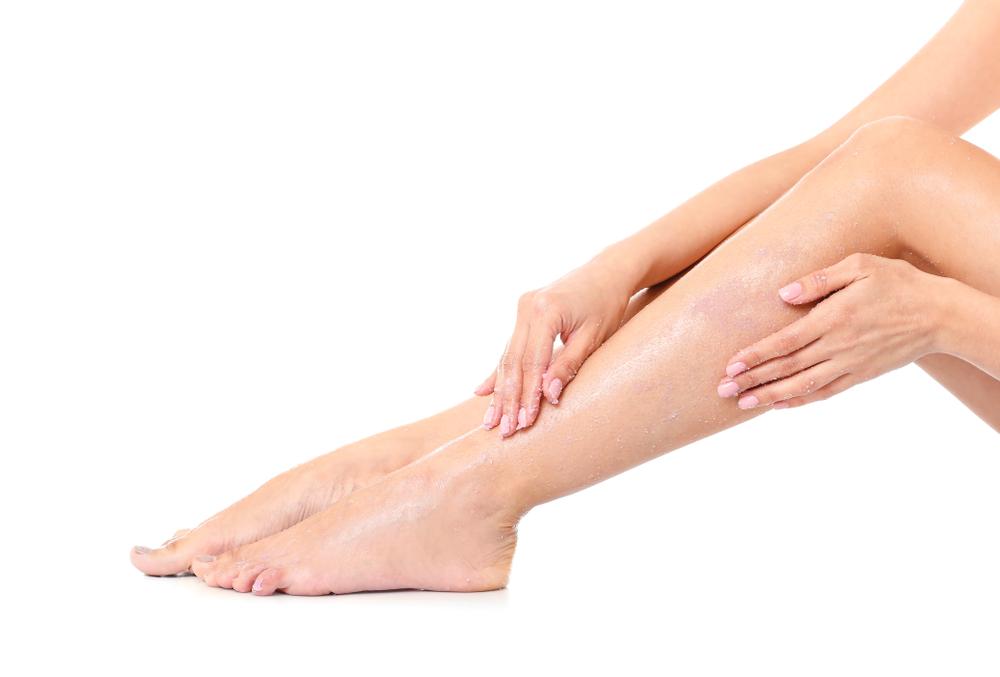 como esfoliar a e pele para depilação